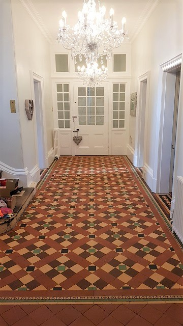 Victorian Hallway After Cleaning Sheffield