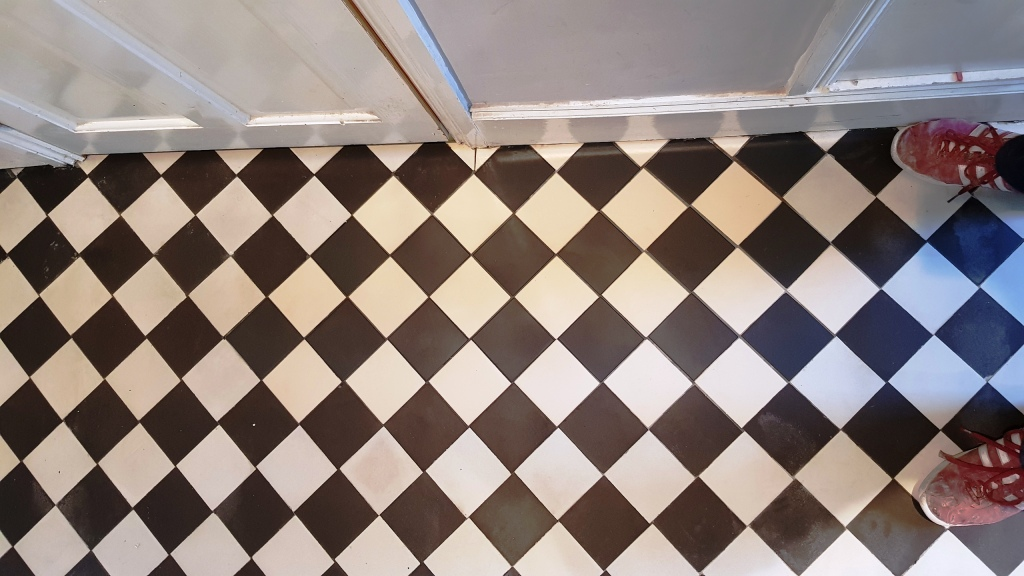 Victorian Tiled Hallway After Repair Rotherham