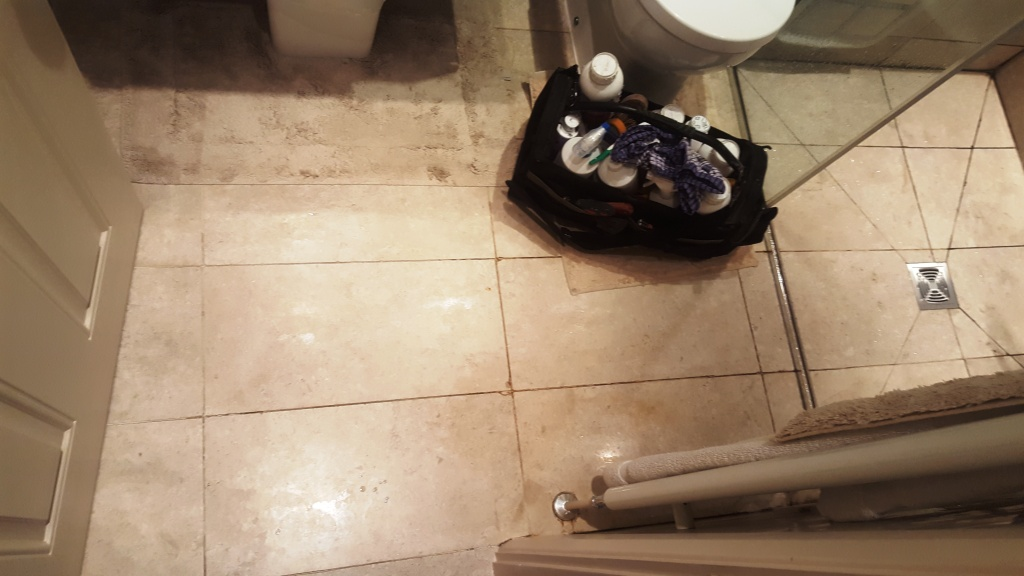 Marble Bathroom Tiles During Cleaning Endcliffe Sheffield