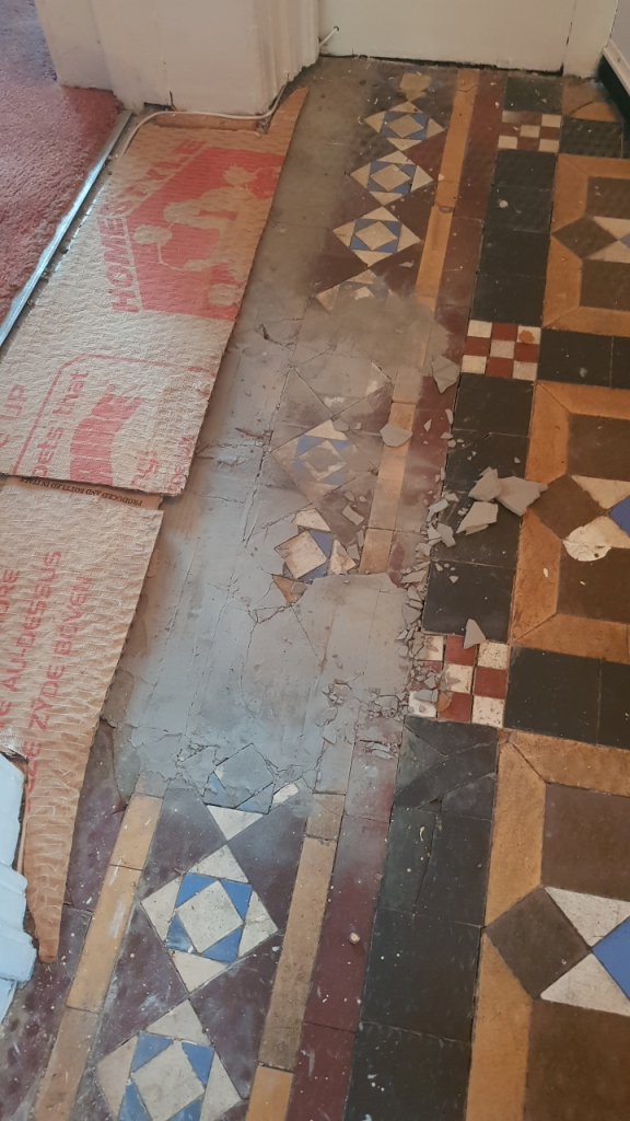 Victorian Floor Restoration Sheffield Before