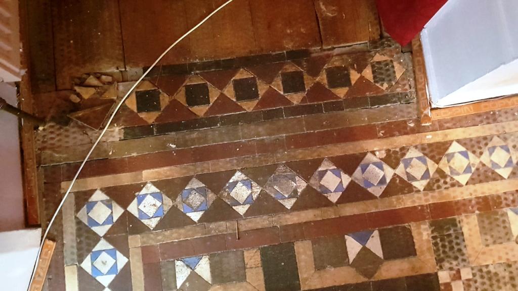 Victorian Floor Restoration Sheffield Before
