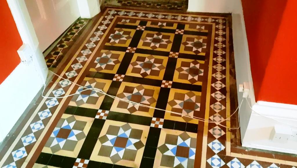 Victorian Hallway Floor Sheffield After Restoration