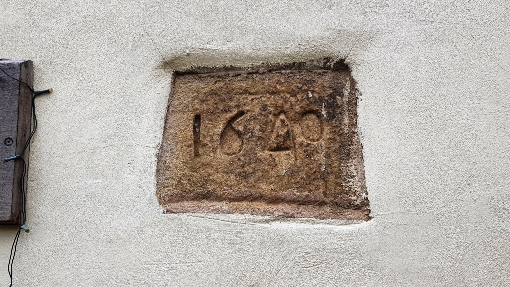 400-Year Old Flagstones House Plaque Oughtibridge