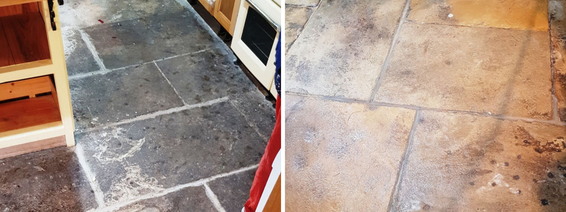 400-Year-Old-Flagstones-Before-After-Cleaning-Oughtibridge