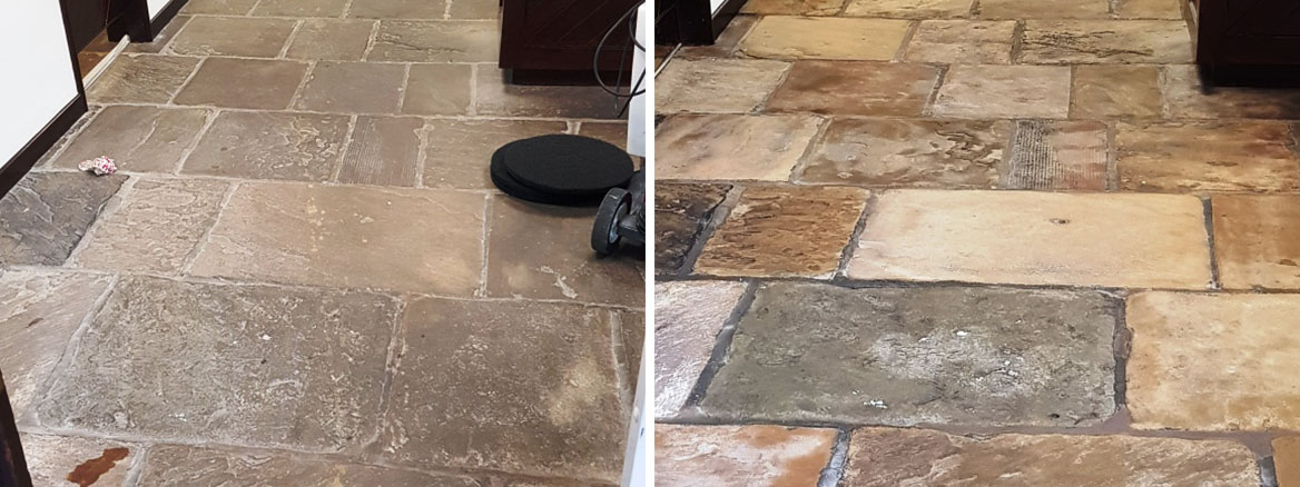 Office-Yorkstone-Floor-Before-After-Cleaning-Norton-Sheffield