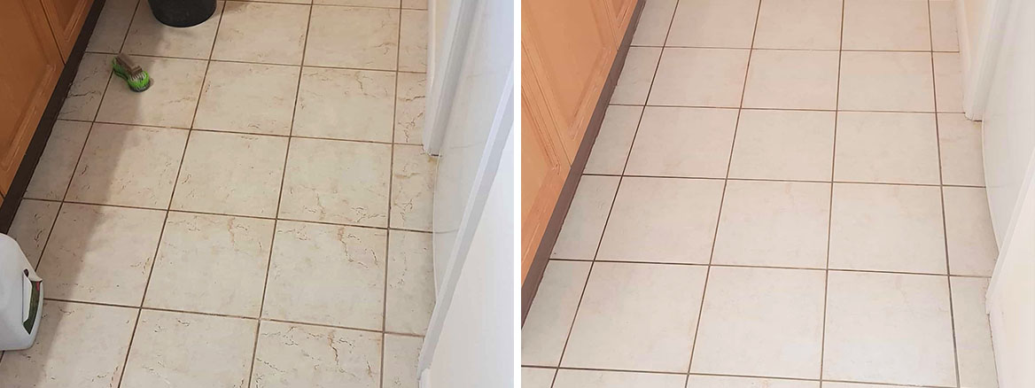 Textured-Ceramic-Tile-Barnsley-Before-After-Cleaning
