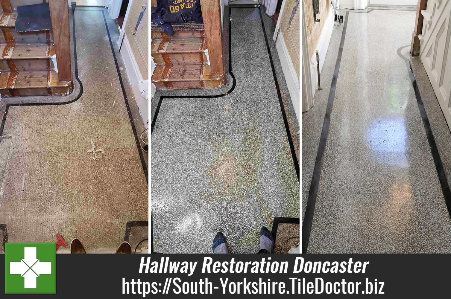 Restoration of an iconic Terrazzo Floor in Doncaster