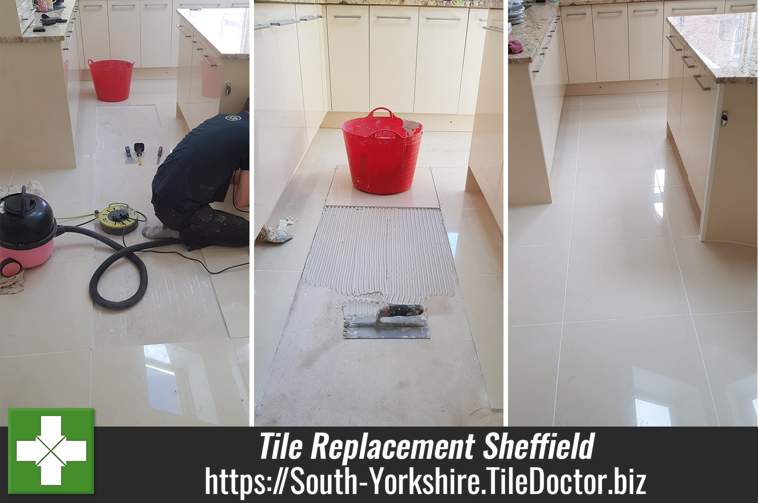 Porcelain Kitchen Tile Replacement Sheffield South Yorkshire