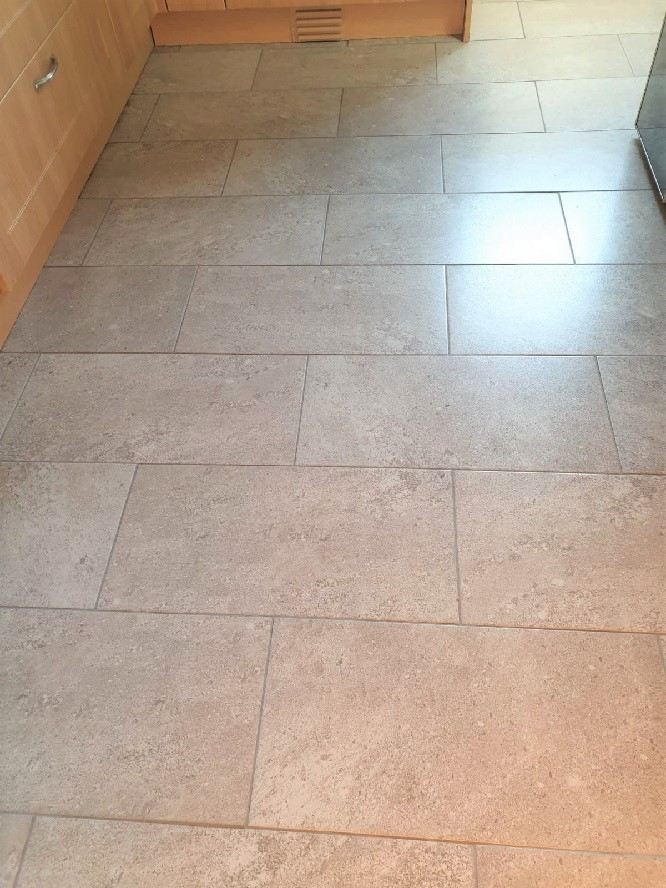 Grout After Recolouring with Natural Grey Grout Colourant in Adwick le Street